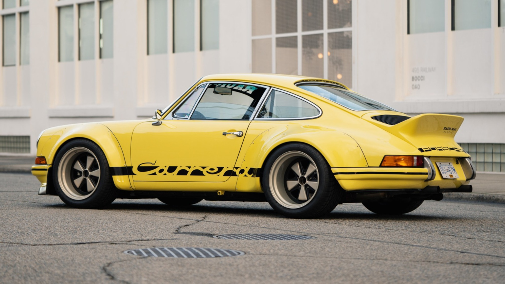 This Rwb Modified 1987 Porsche 911 Carrera Is For Sale Now
