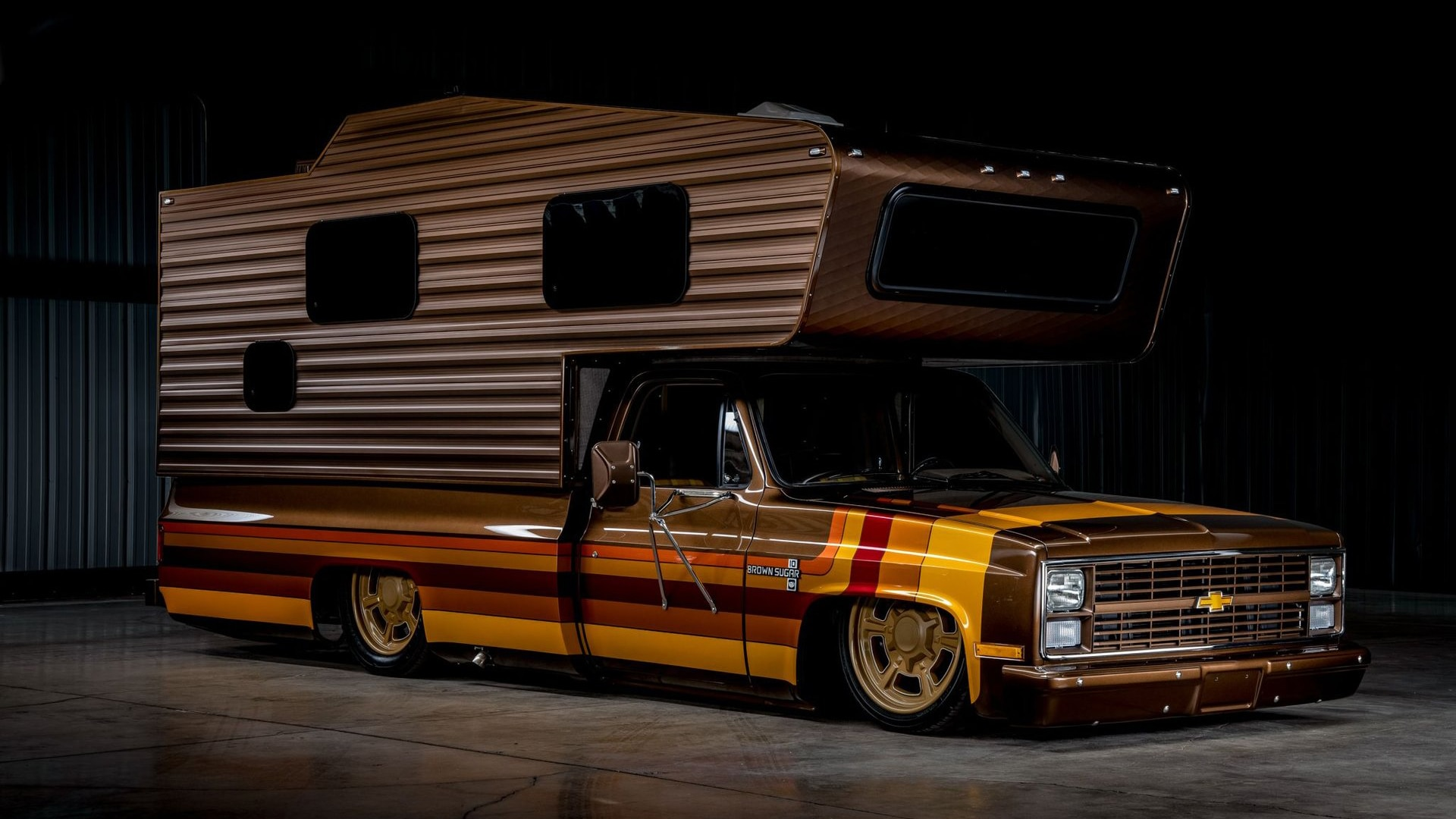 This Rad '83 Chevy Camper Custom from SEMA Is for Sale - Automobile