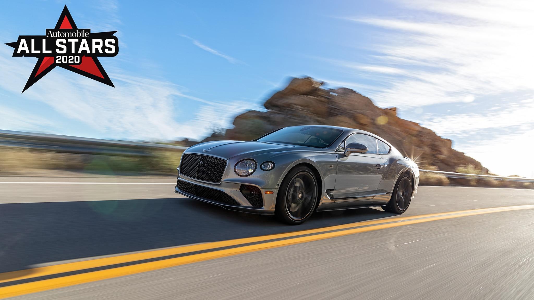 2020 Bentley Continental Gt Test Drive Automobile All Stars Winner