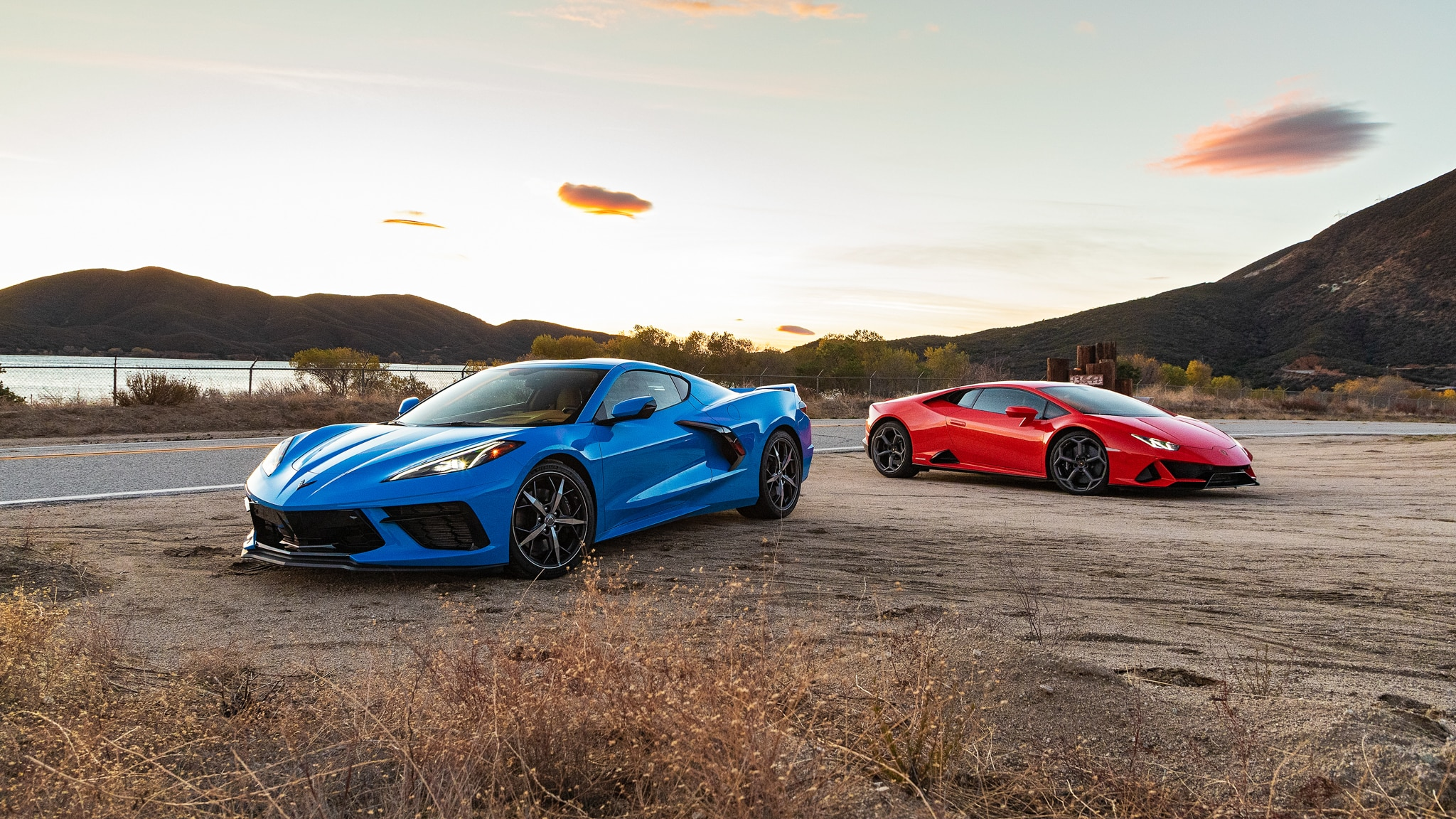 2020 Chevrolet Corvette C8 Versus Lamborghini Huracan Evo: Comparison Test Drive Review - Automobile Magazine