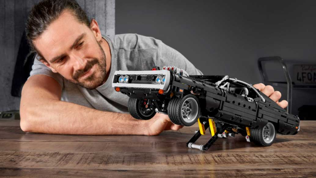 Build Dominic Toretto S 70 Dodge Charger R T In Your House Out Of Lego