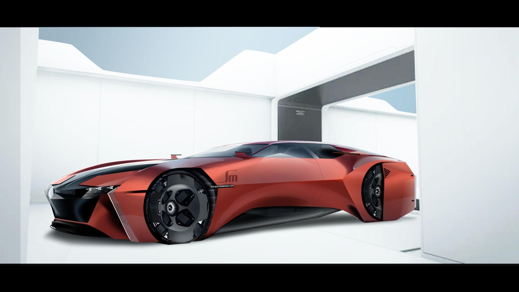 На роскошном бренде Citroën DS проводится конкурс дизайна New-Age SM, мы все выигрываем
