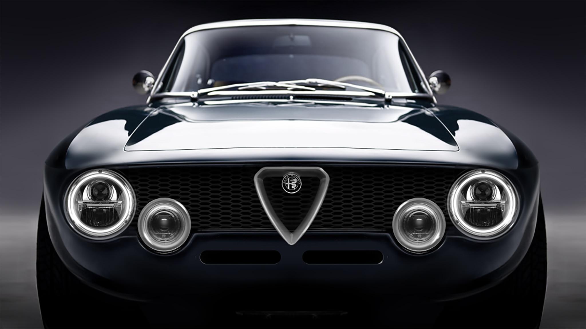 Alfa Romeo Giulia >> Stunning Alfa Romeo Giulia GT Restomod Is Electric, Has 518 HP