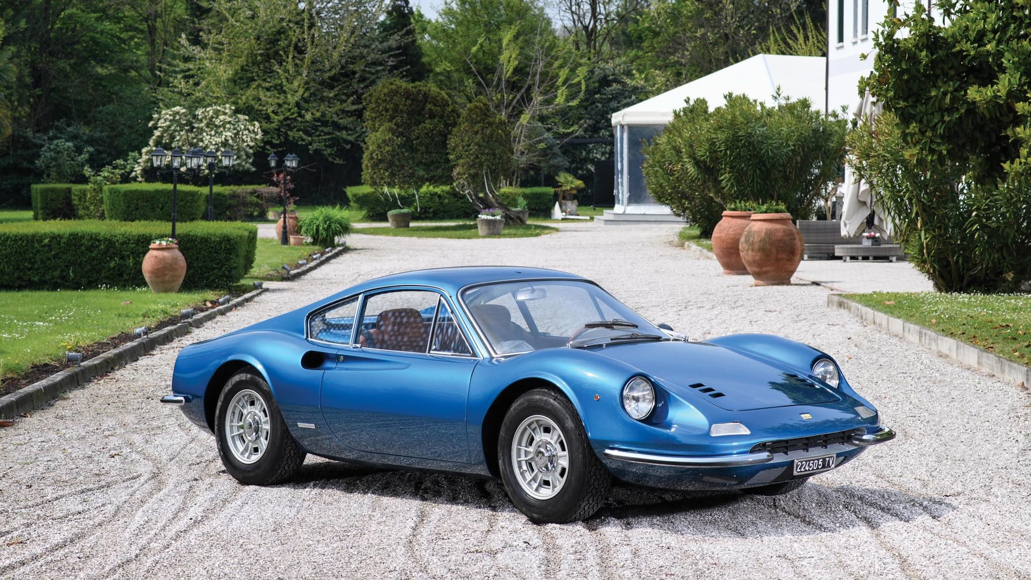The Ferrari Dino History Models Differences