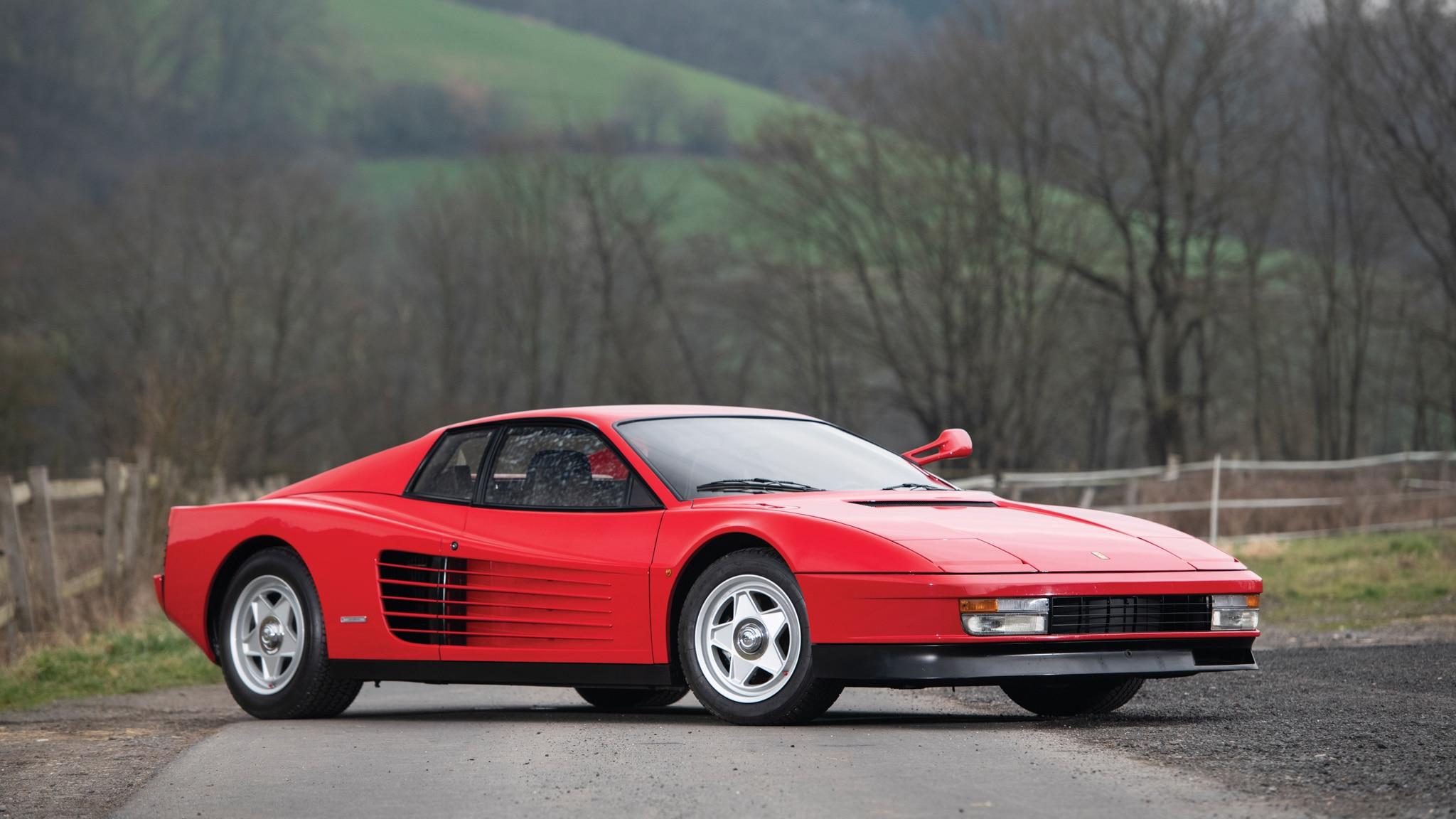 The Ferrari Testarossa History Generations Models And More