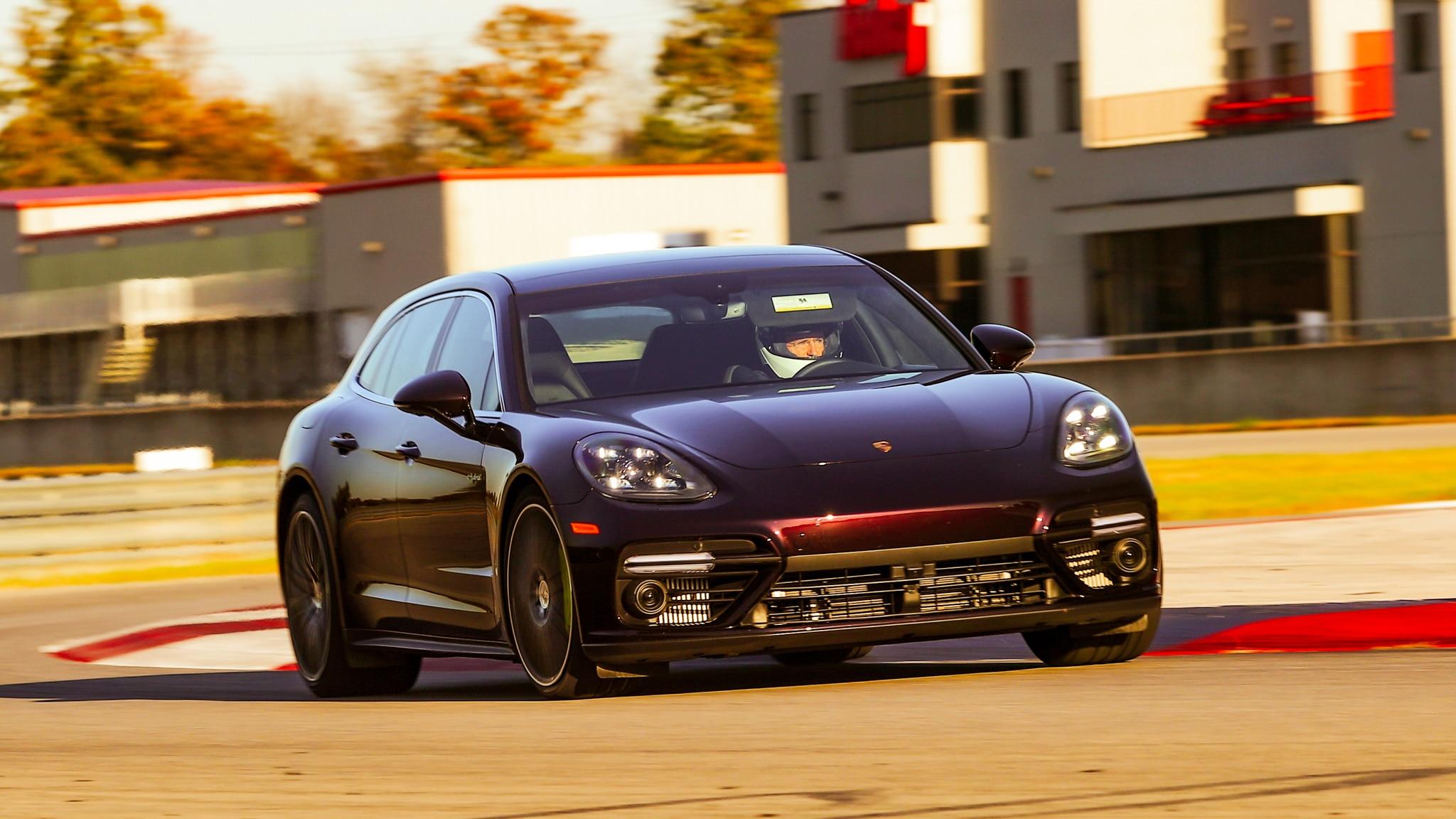 Tested Porsche Panamera Turbo S E Hybrid Sport Turismo Goes To The Ragged Edge At Ncm Motorsports Park