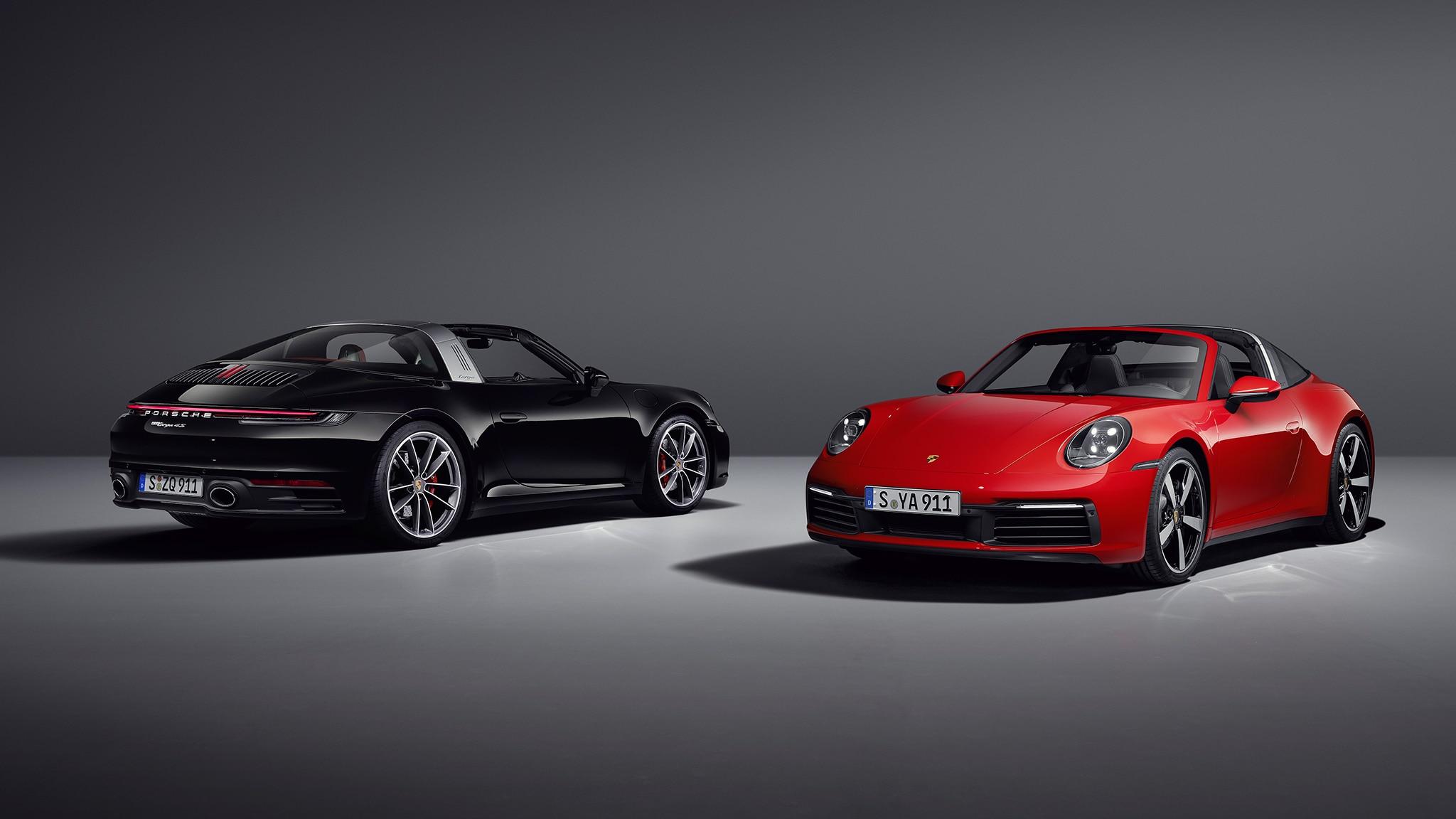 The Targa is Back! The New 2021 Porsche 911 Targa 4 and Targa 4S ...