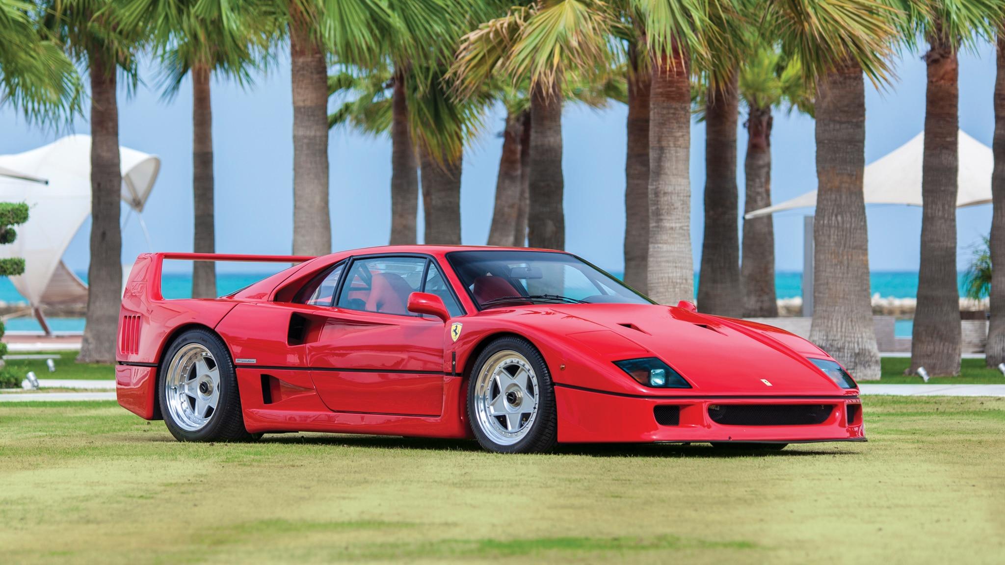 The Ferrari F40 History Of A Legend