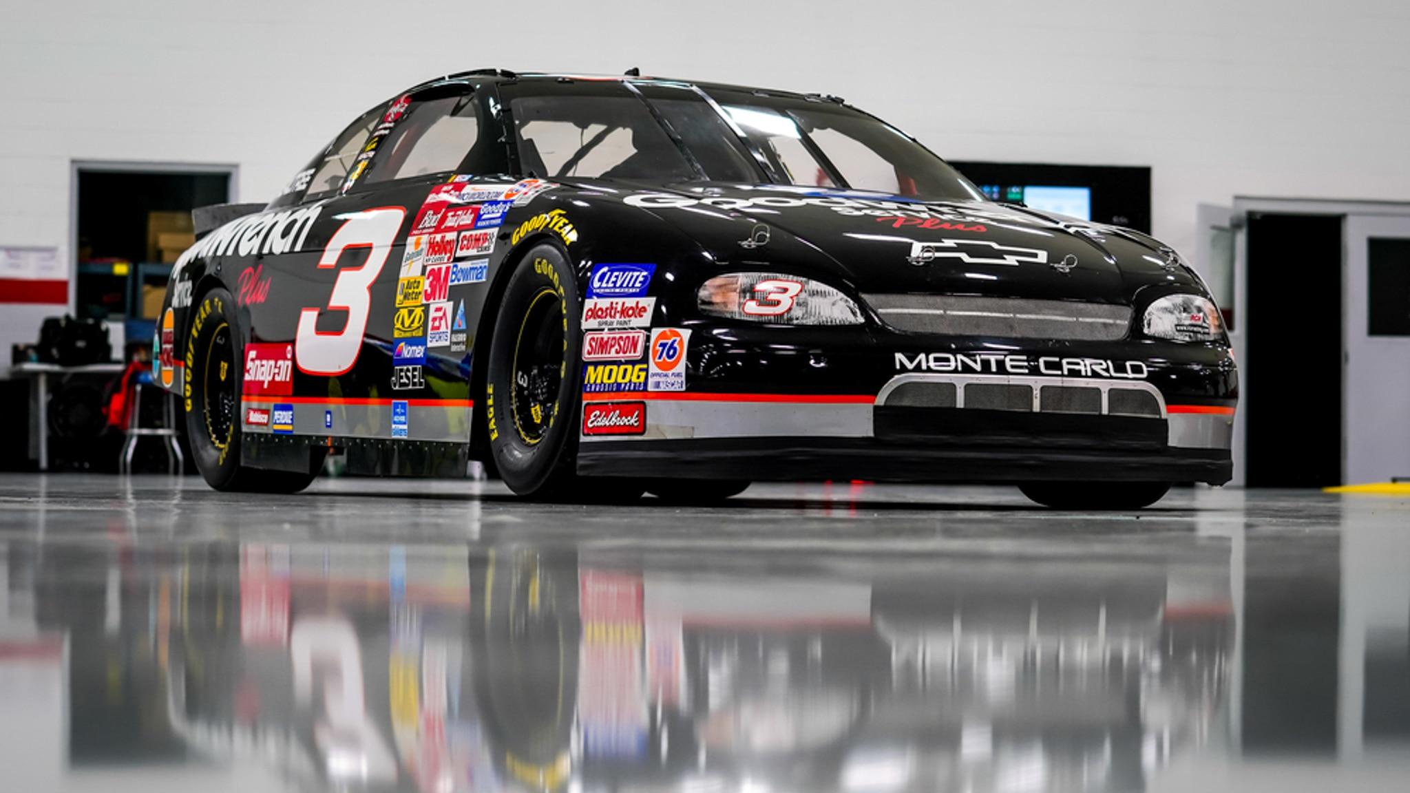 Ex Dale Earnhardt Nascar Racer Brings 425k At Barrett Jackson Online Auction