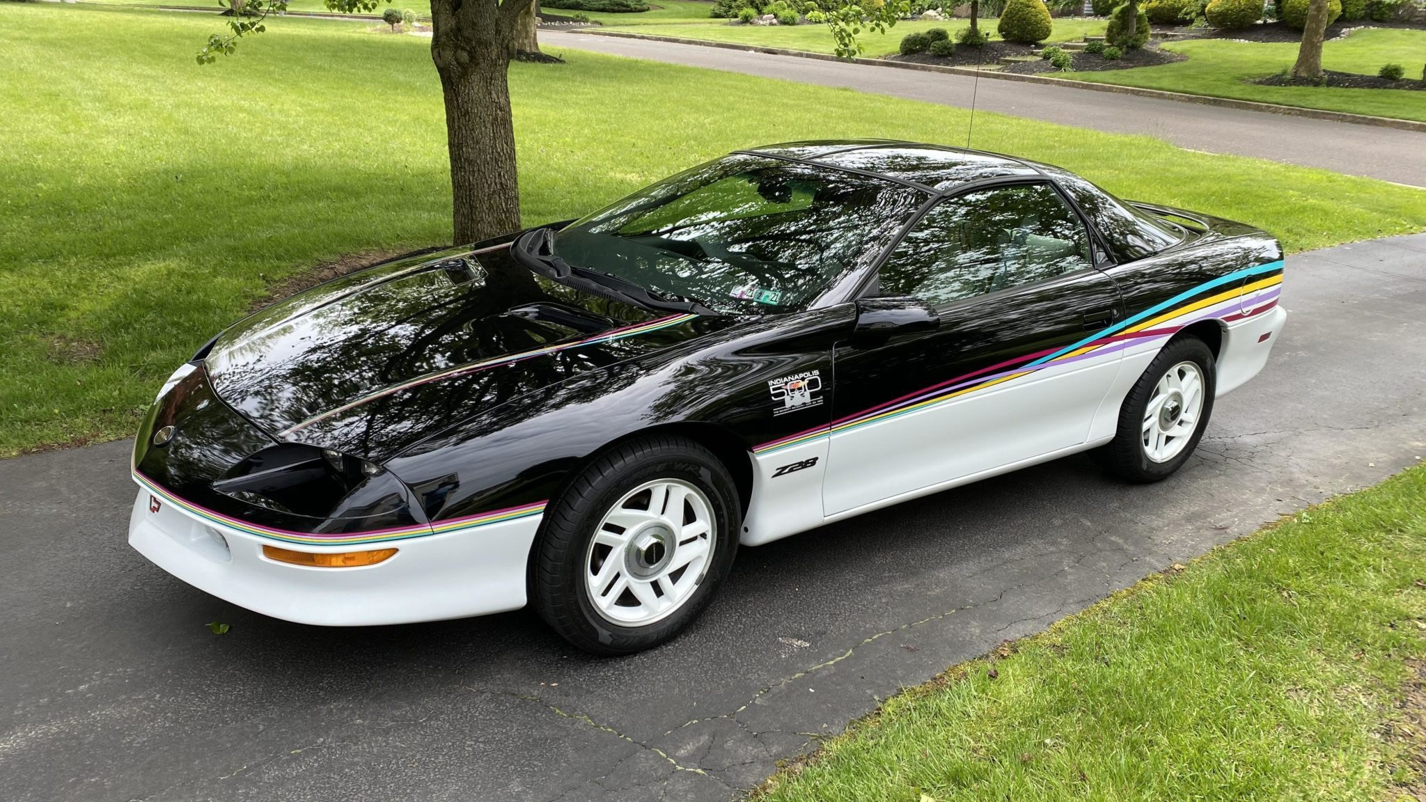 1993 Chevy Camaro Indy 500 Replica Perfectly Encapsulates the 1990s