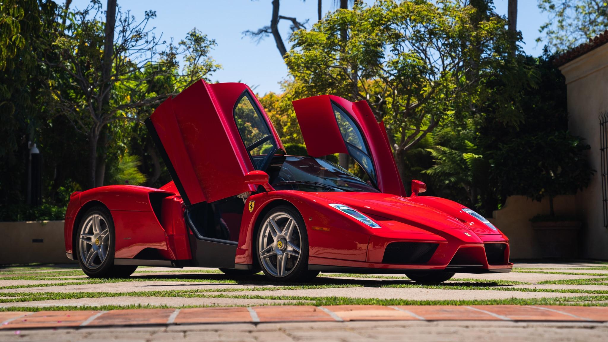 Ferrari Enzo Sets New Online Auction Sales Record At 2 64 Million Auction Wrap Up