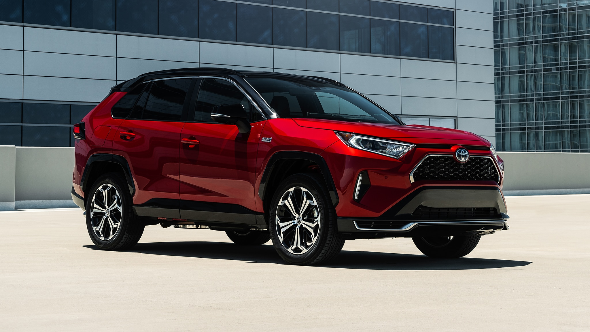 Test Drive There S More To The 2021 Toyota Rav4 Prime Than Quick Acceleration