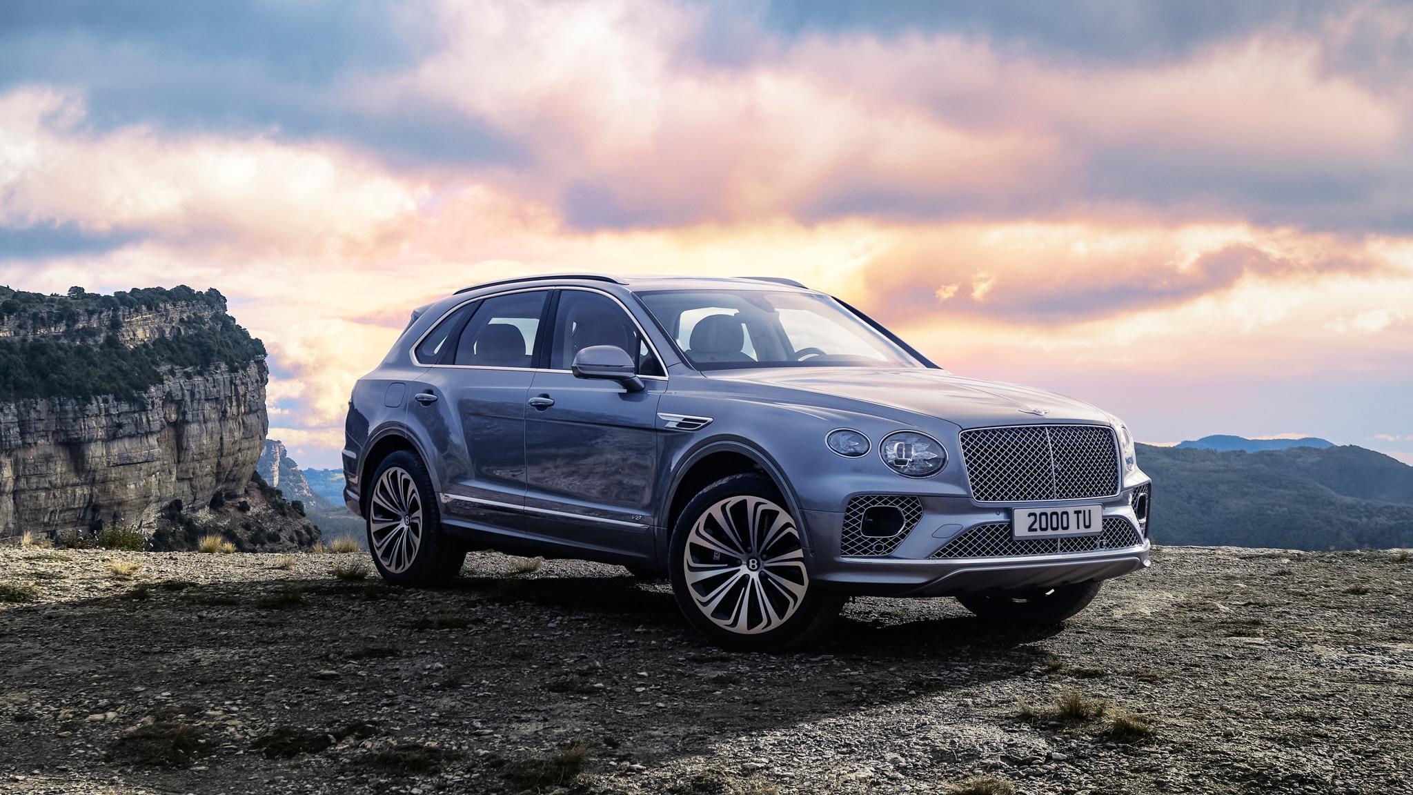 New 2021 Bentley Bentayga Less Ugly More Infotaining