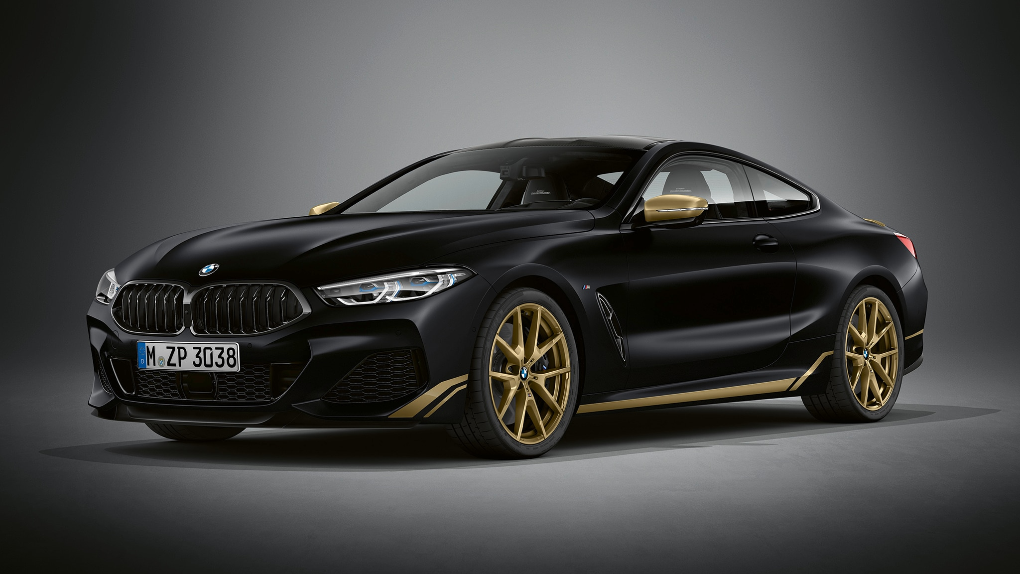 "The BMW 8 Series ""Golden Thunder"" Edition Is the Bandit's Bimmer"