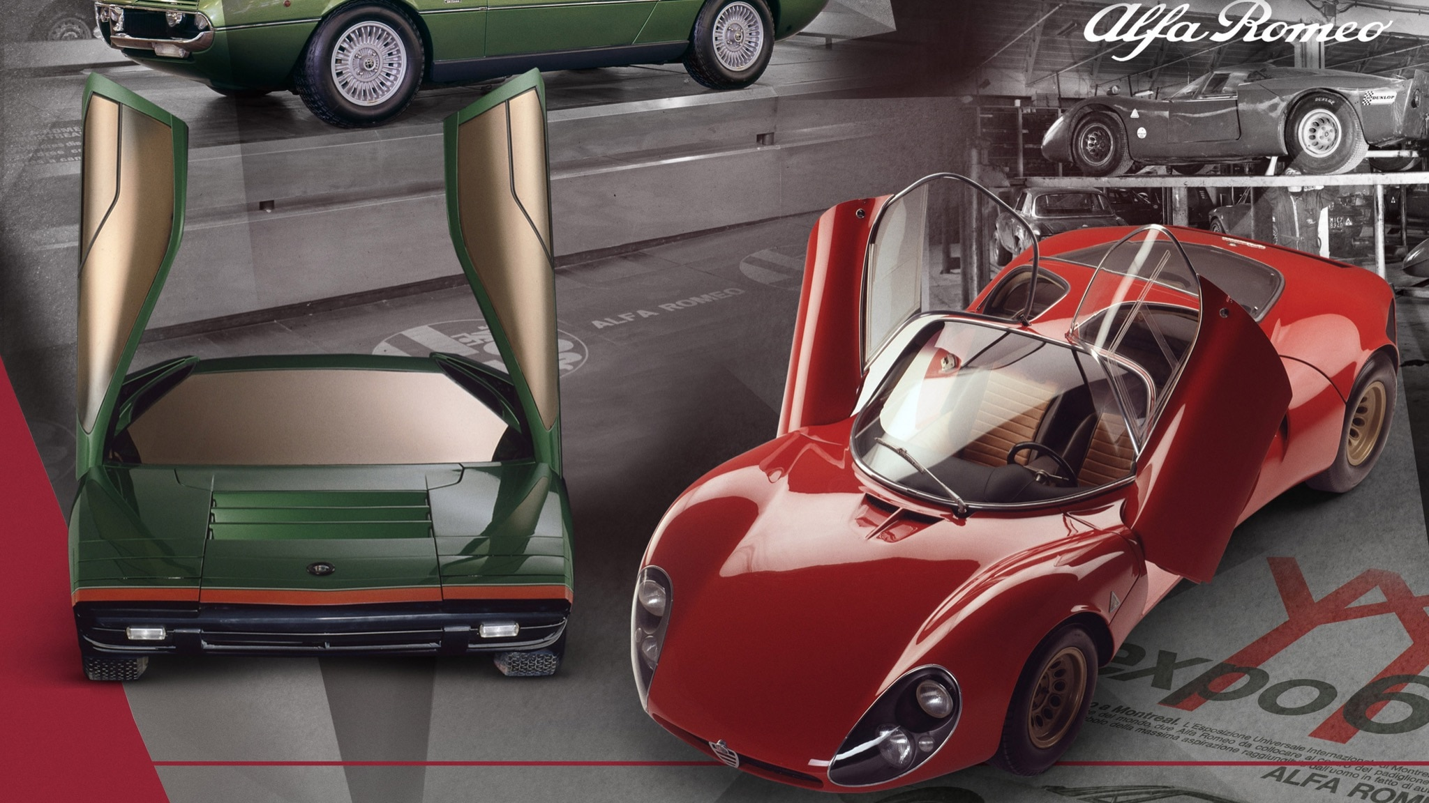 Two Gorgeous Alfa Romeos Show That Car Design Can Change In An Instant