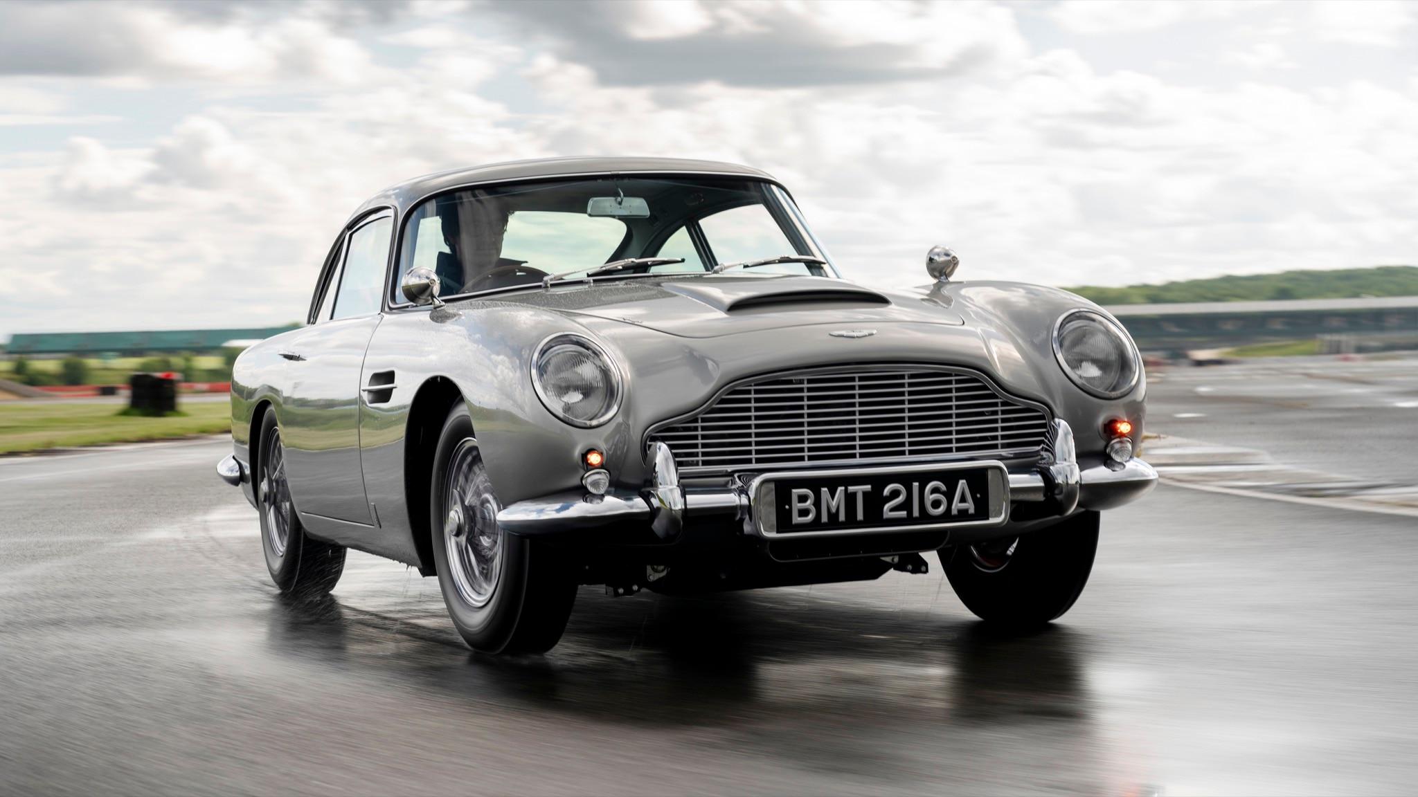 Meet the 25 Goldfinger-Inspired 1964 Aston Martin DB5...