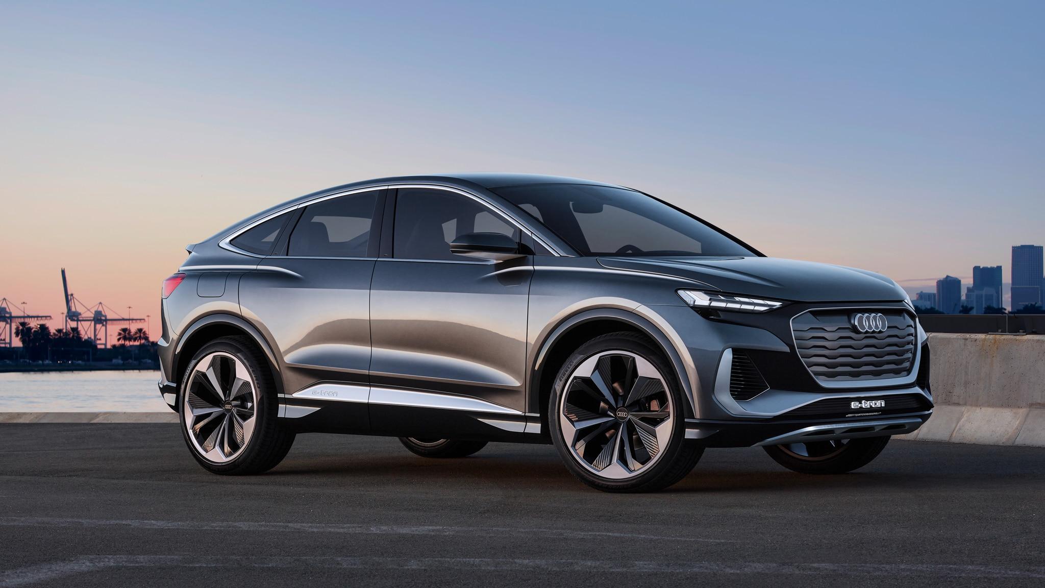 2022 Audi Q4 E-Tron Sportback Concept First Look