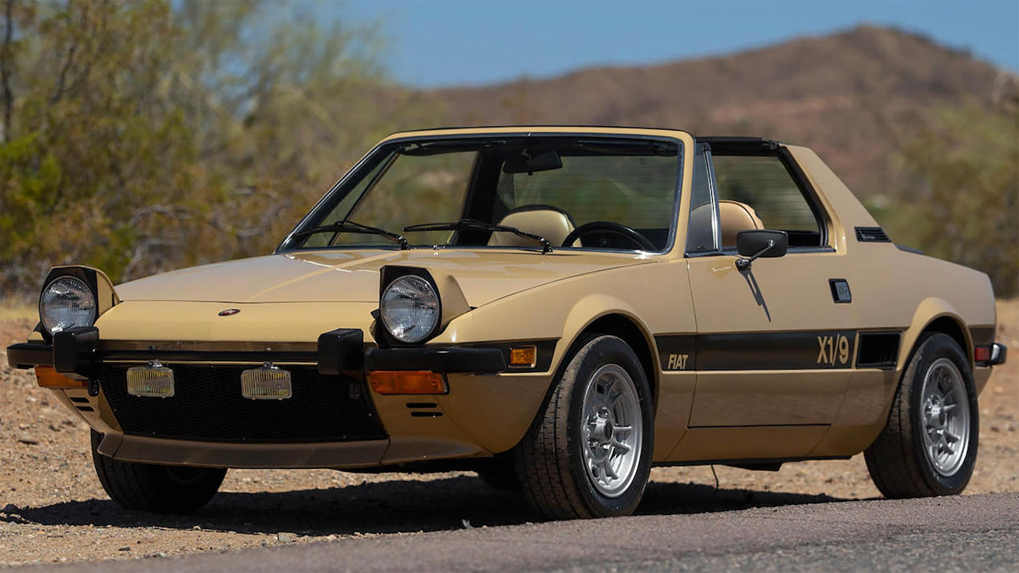 The Fiat X1 9 History Generations Specifications