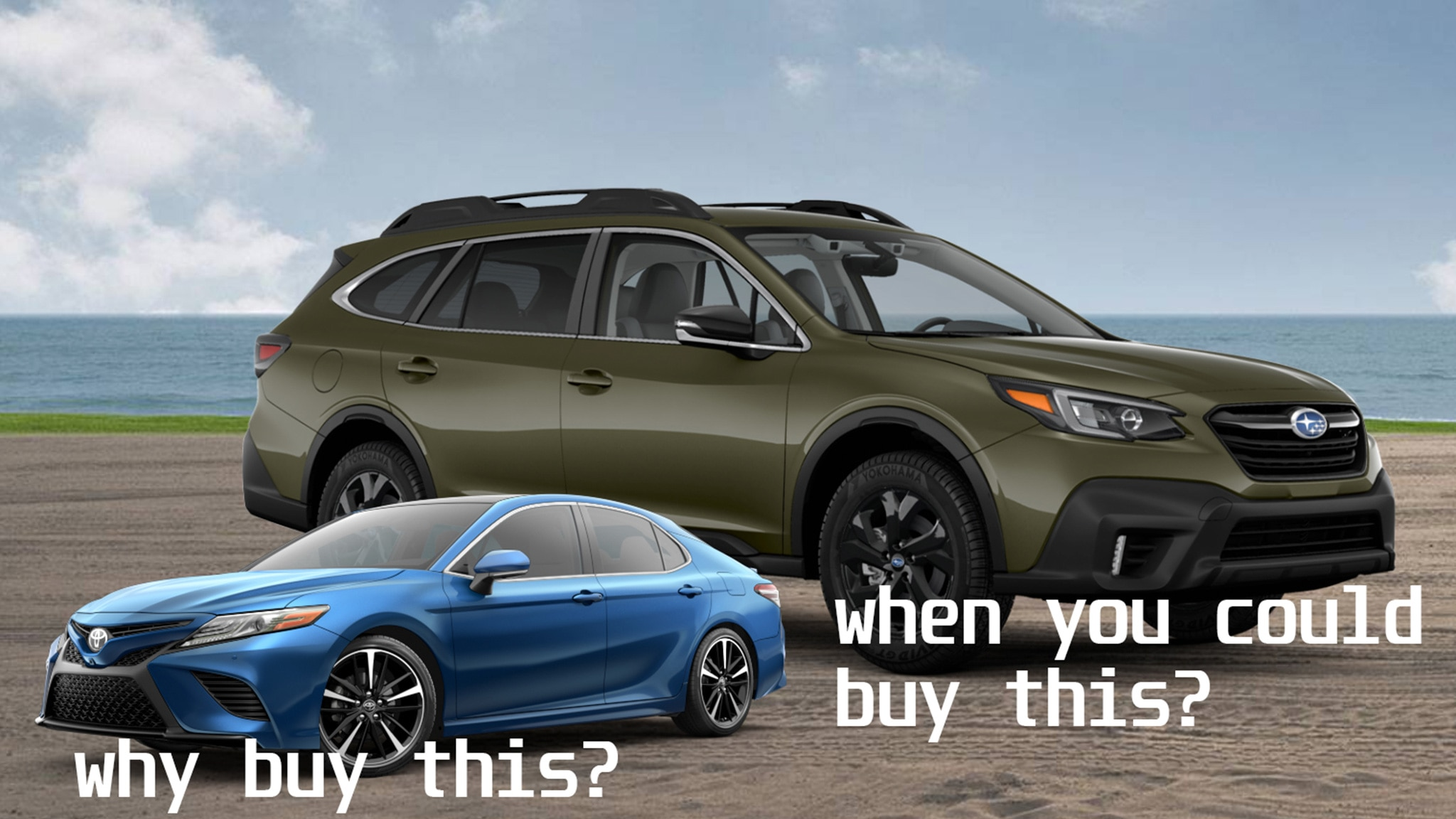 Buy A Camry Or Buy This 2021 Subaru Outback Xt