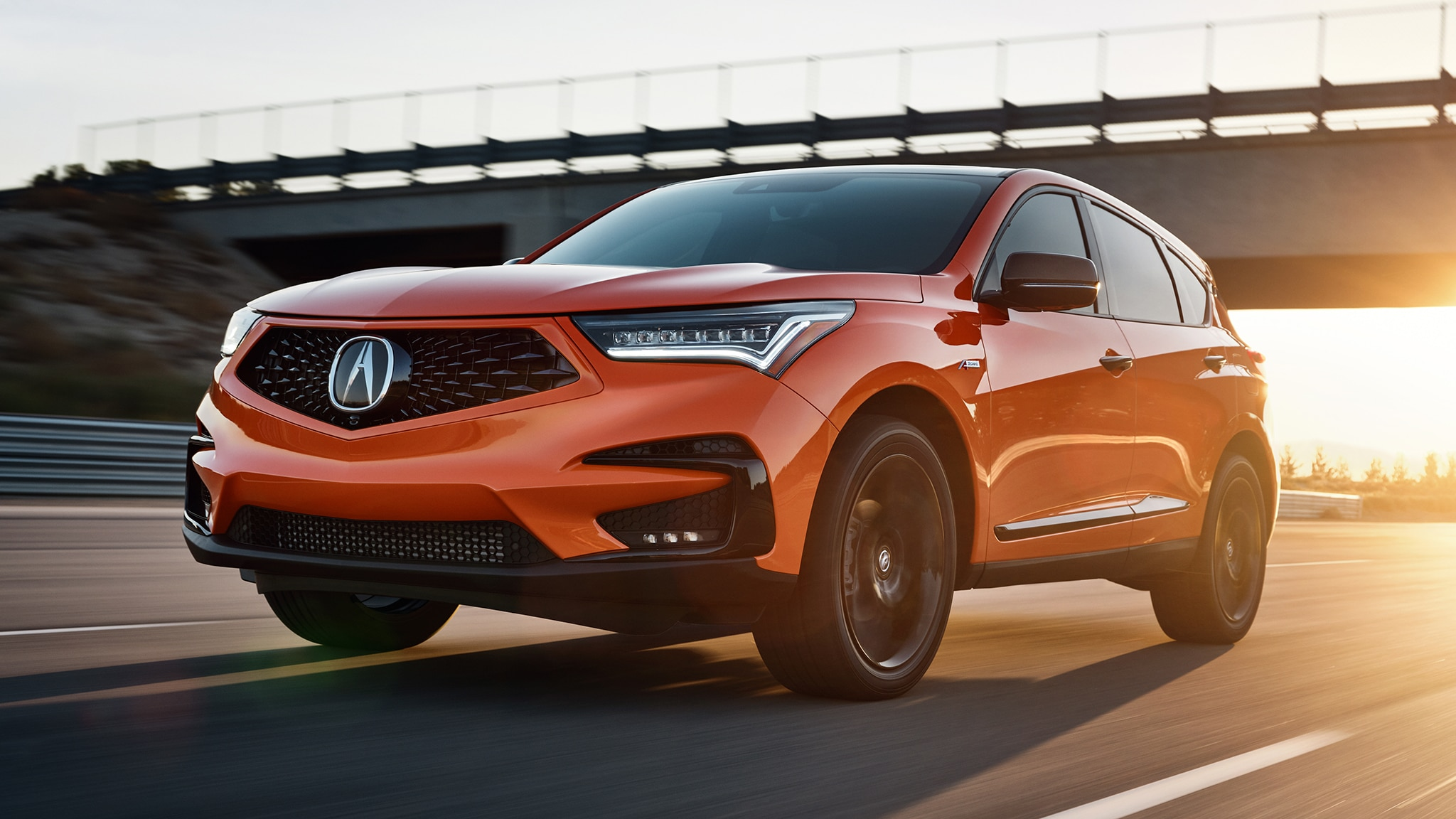 2021 Acura RDX Gets Very, Very Orange PMC Edition