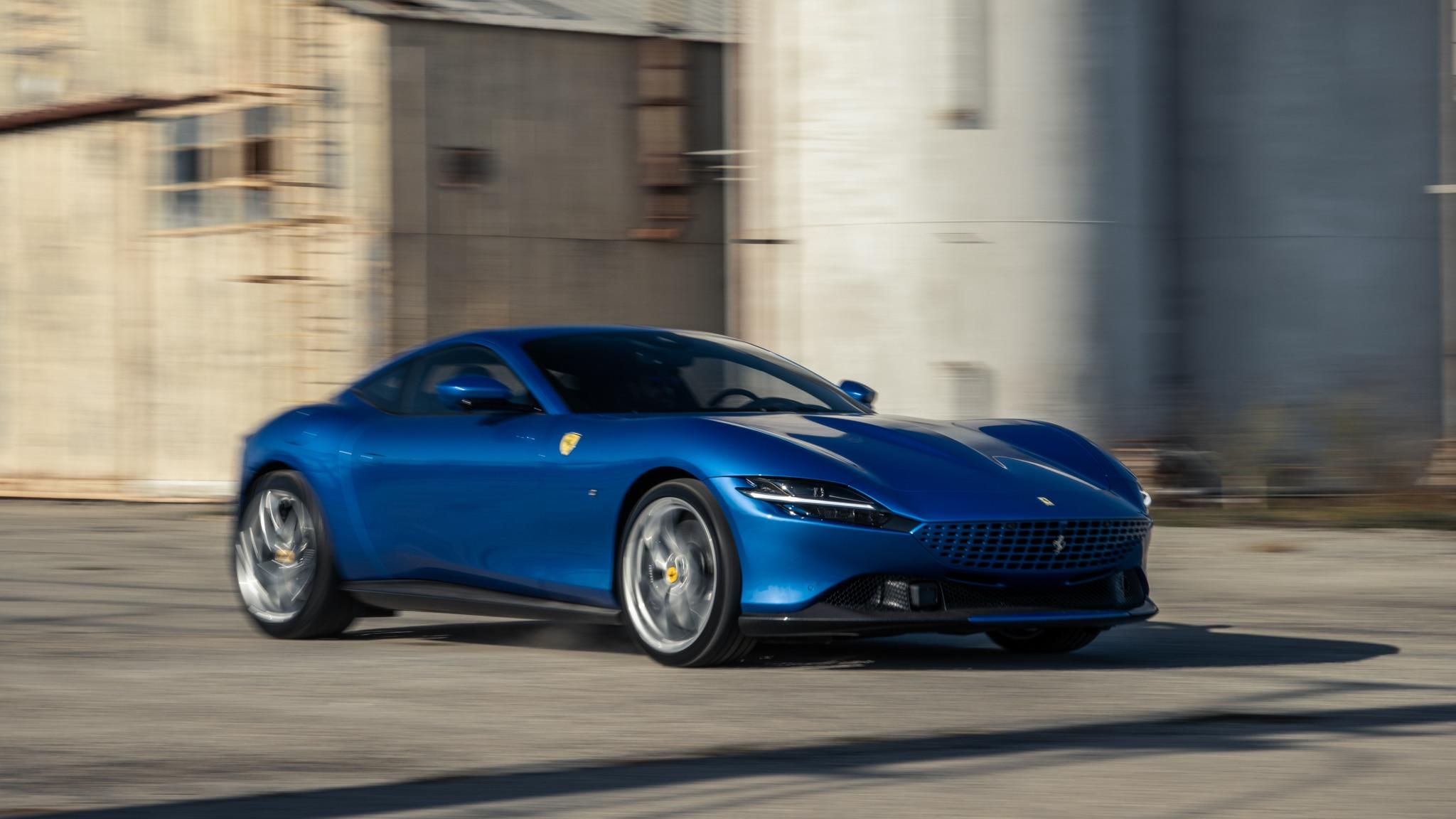 2021 Ferrari Roma First Test Drive Meet The Best Everyday Ferrari