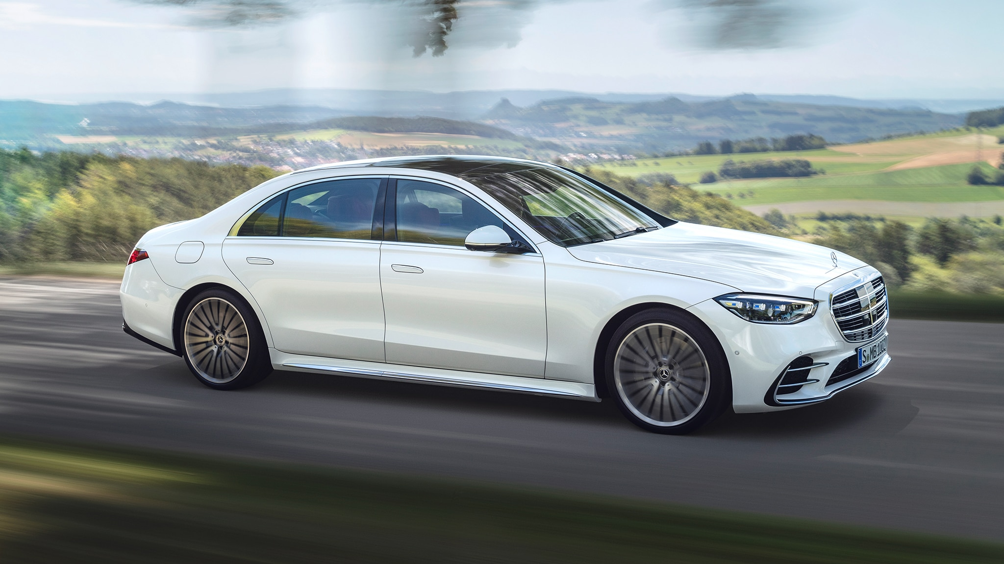 2021 Mercedes Benz S Class Revealed Softer Look Impressive Tech
