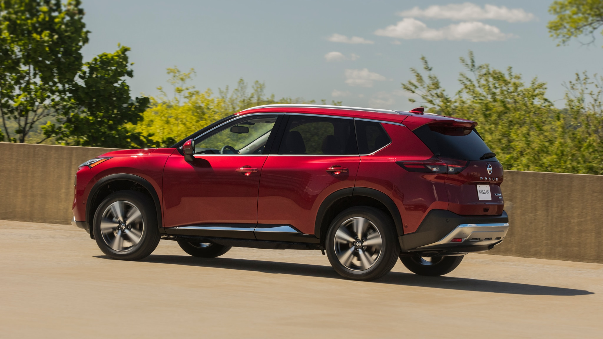 2021 Nissan Rogue Platinum Awd First Drive Raising Its Game Inside And Out