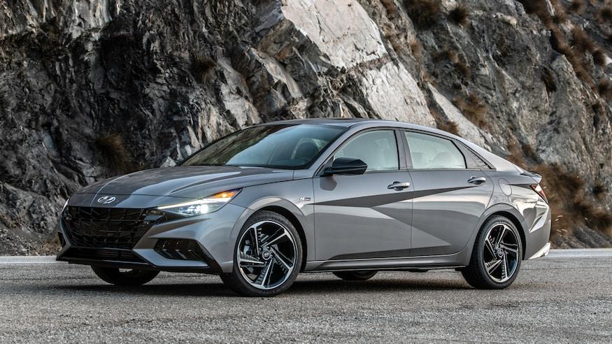 2021 Hyundai Elantra.
