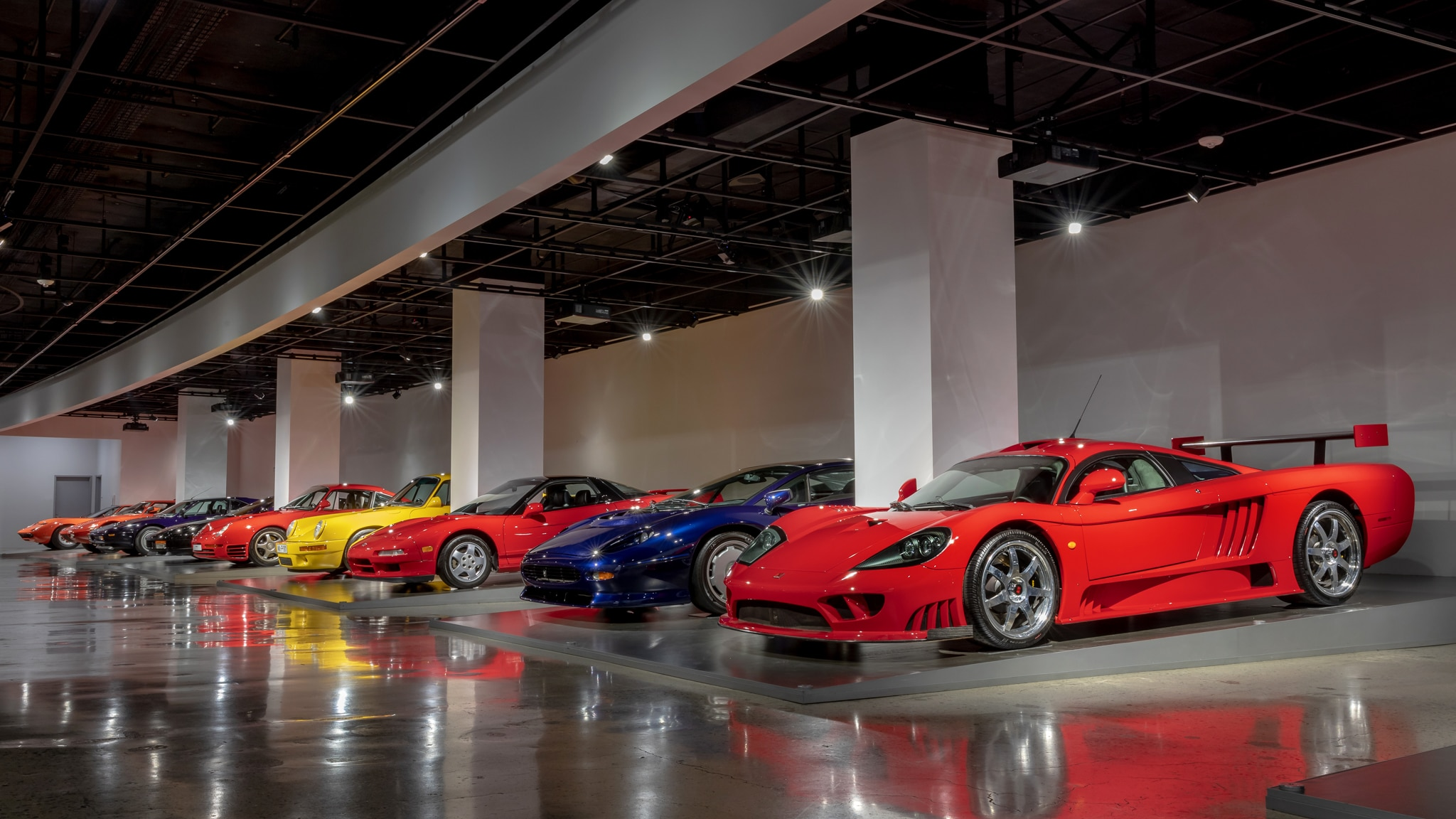 "Nine Favorites from the Petersen Automotive Museum's ""Supercars"" Exhibit"