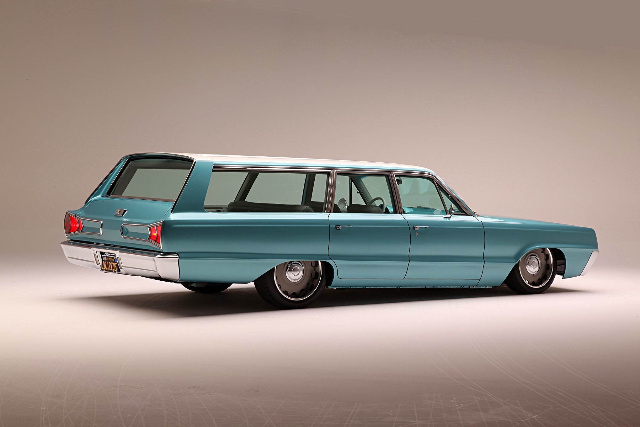This 1966 Dodge Polara Station Wagon Is a Surfer's Paradise