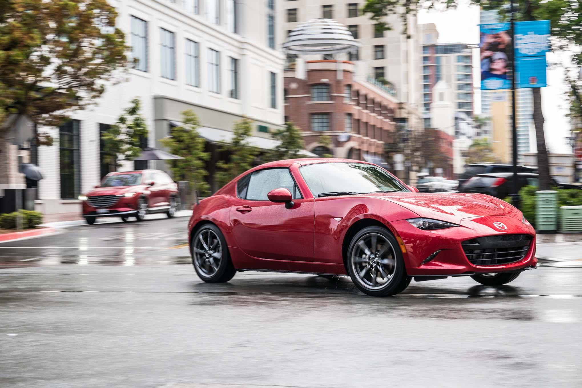 2017 Mazda Mx 5 Miata Rf Grand Touring >> Mazda to Launch Compression-Ignition Gas Engine Called ...