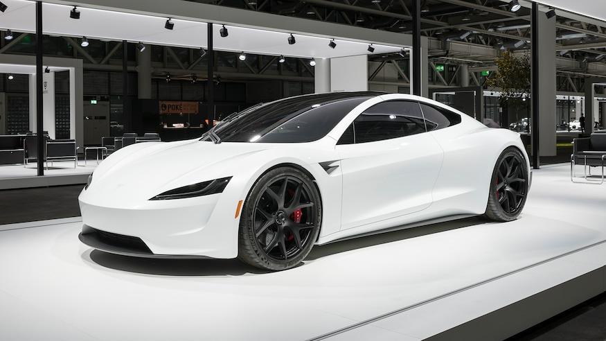 2020 Tesla Roadster >> 2020 Tesla Roadster Makes European Debut Dressed In White
