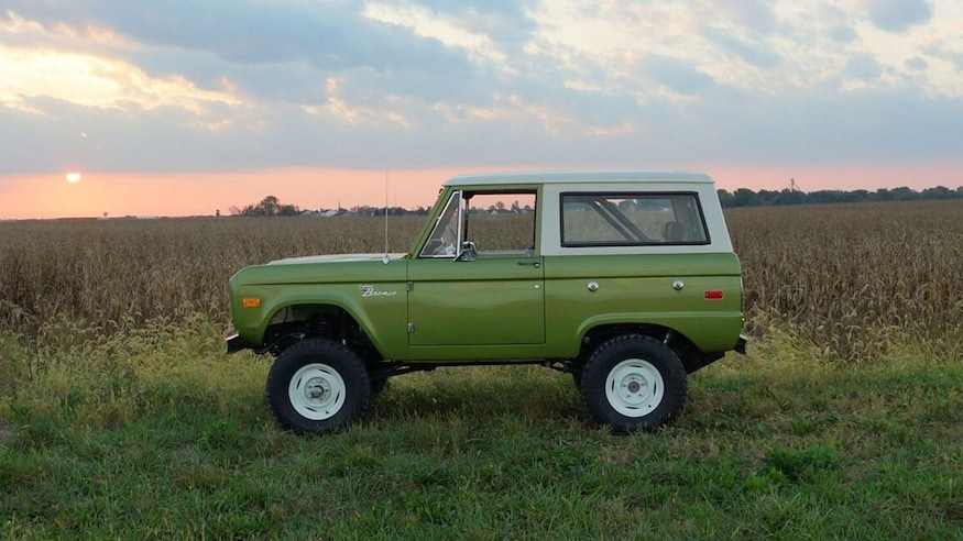 2018 Bronco Price >> Brand New Vintage Ford Broncos Are Now Available