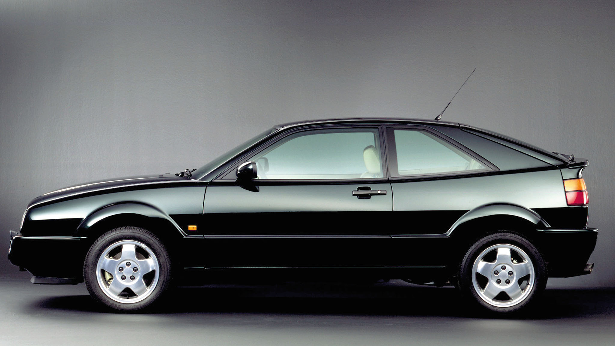The VW Corrado Took Active Rear Spoilers Mainstream in the '80s