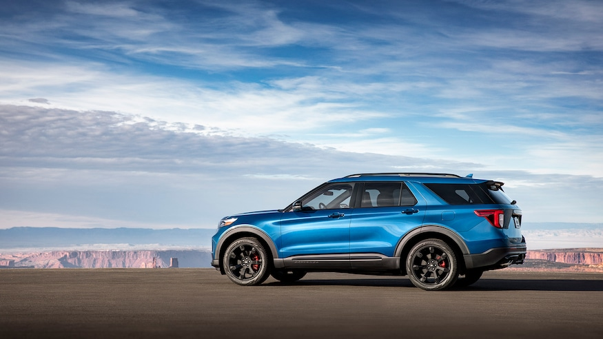 Driven The 2020 Ford Explorer St Is All About The Horsepower