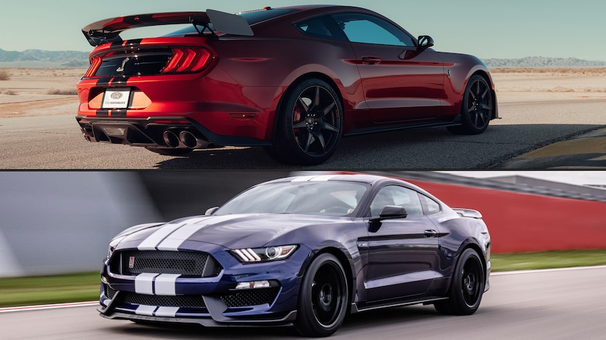 mustang gt500 shelby 2020