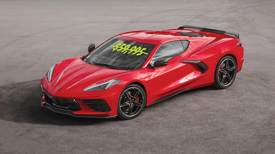 The 2020 C8 Chevrolet Corvette S Sub 60k Base Price Will Only
