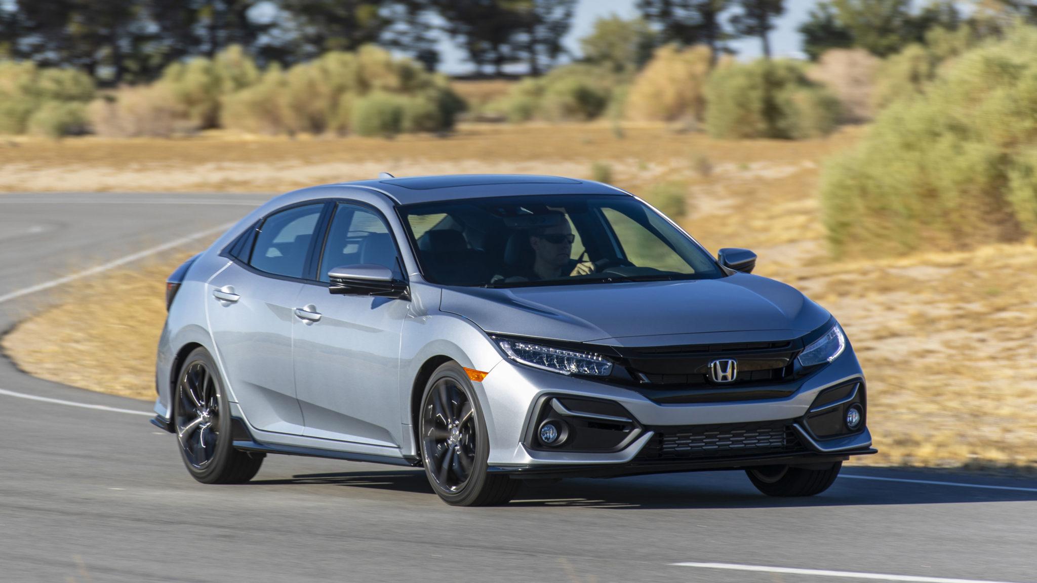 Refreshed 2020 Honda Civic Hatchback Pricing Details