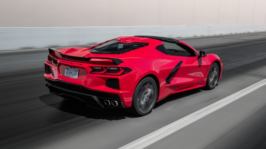 Hear And Watch The 2020 C8 Chevy Corvette Start Rev And Launch