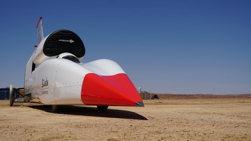 Land Speed Record >> This Is The Rocket Car Aiming For 1 000 Mph Land Speed