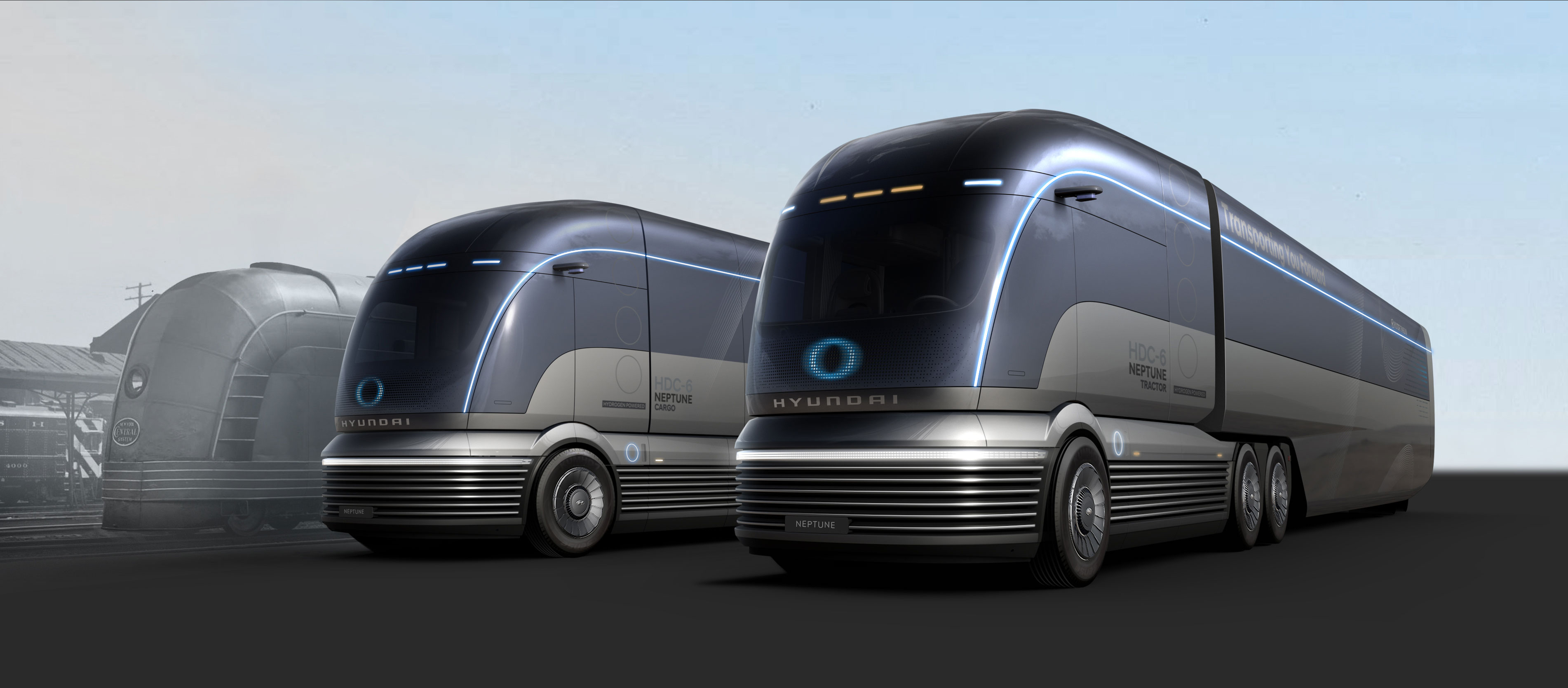 Hyundai's Fuel-Cell Electric Semi Truck Powers Our Cyborg ...