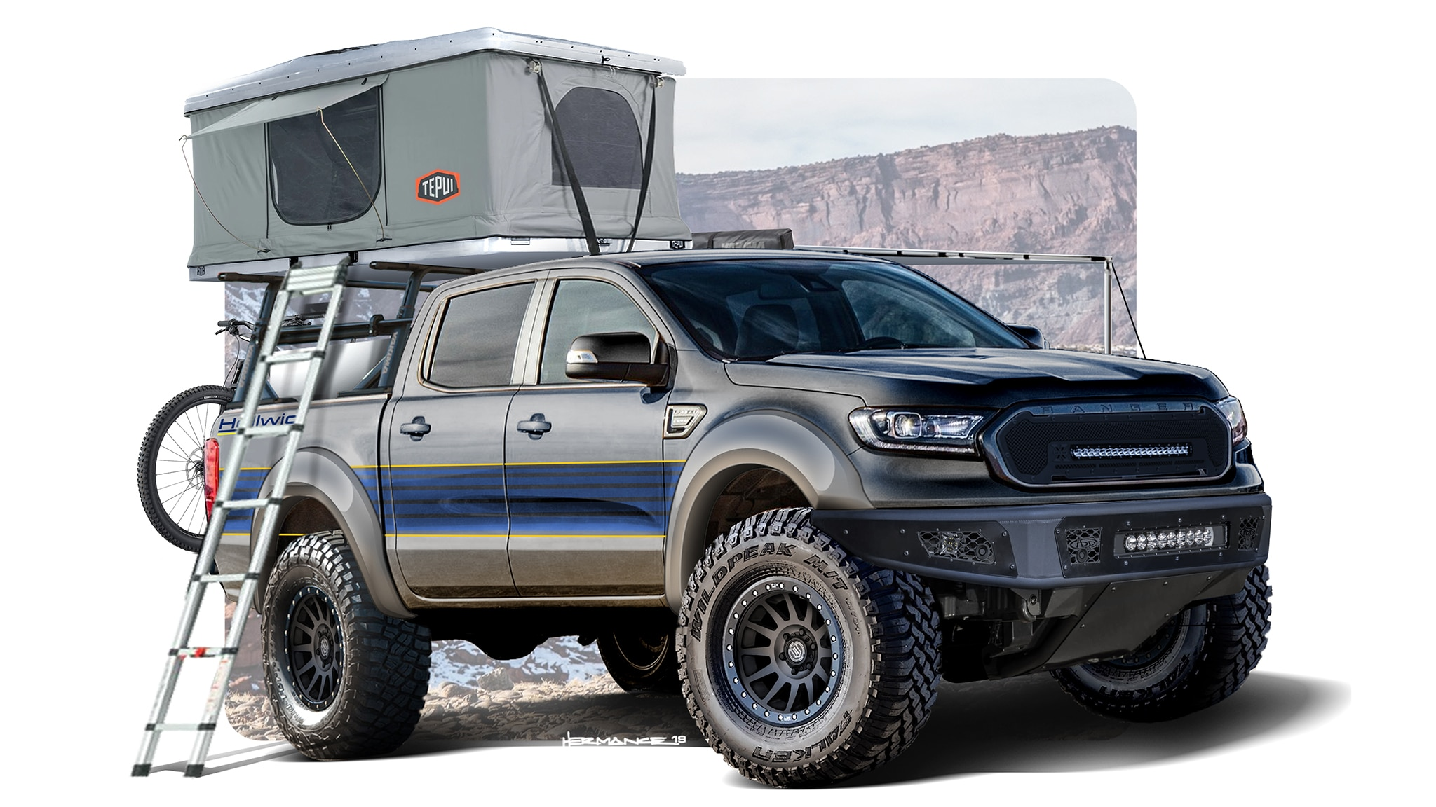 These Custom Ford Ranger Pickups Include Sweet Overland ...