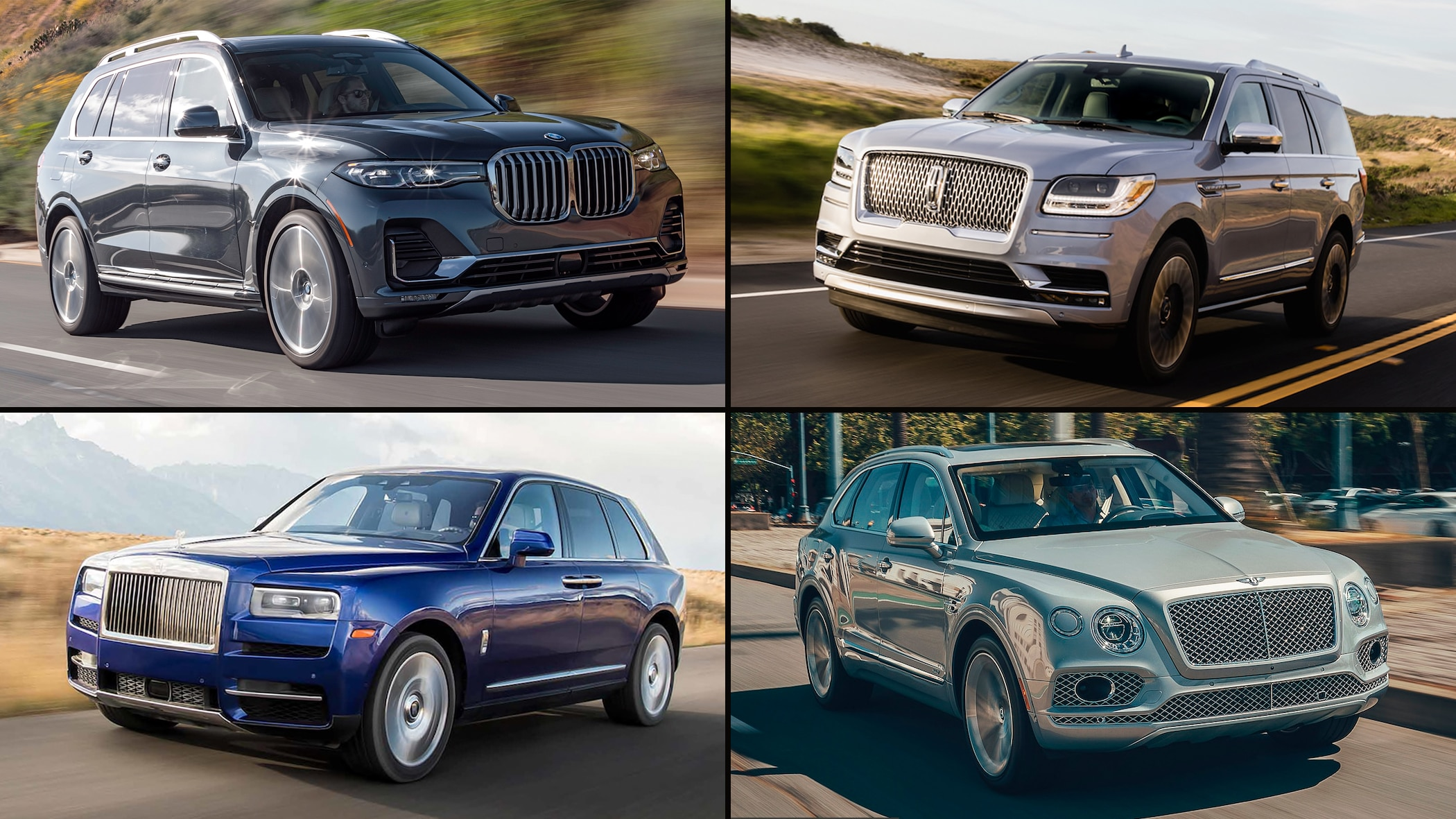 These Are The Most Luxurious Suvs Money Can Buy