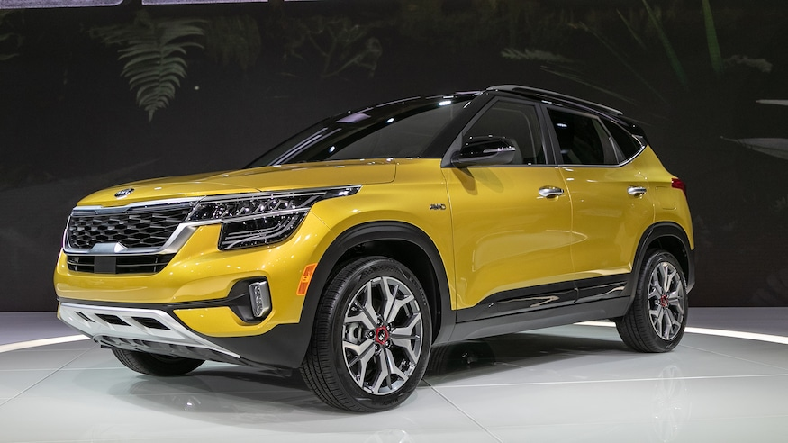 2021 Kia Seltos Compact Suv Puts On A Refined Face