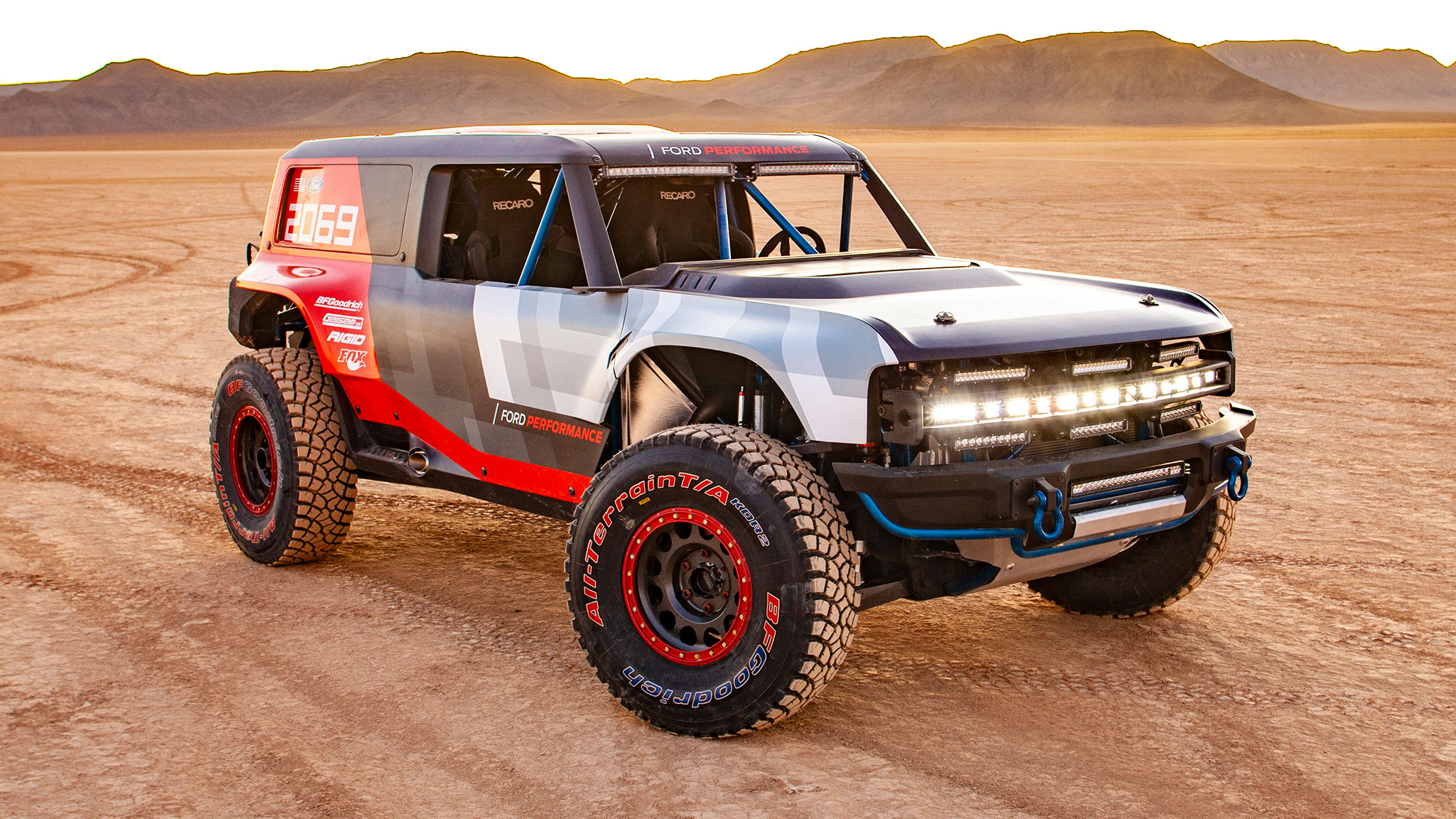 the 2021 ford bronco details previewedthe race truck