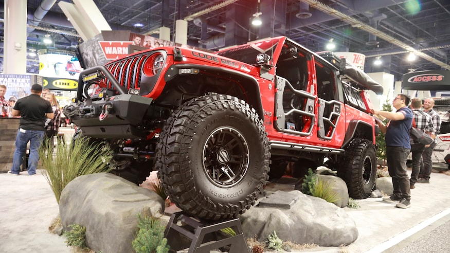 In Photos The Custom 2020 Jeep Gladiator Jt Builds Of Sema