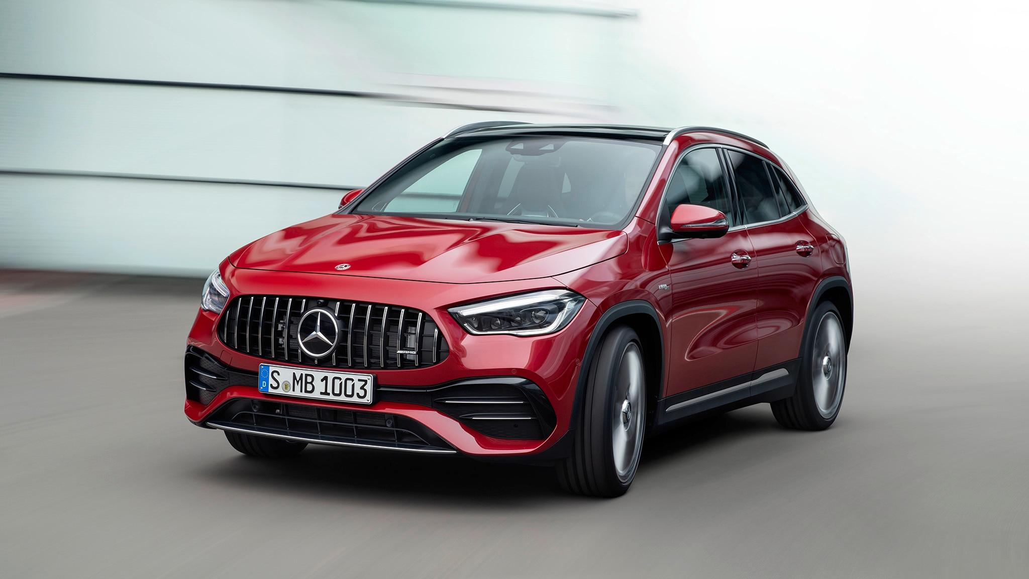 2021 Mercedes-Benz GLA-Class First Look: M-B's Smallest ...