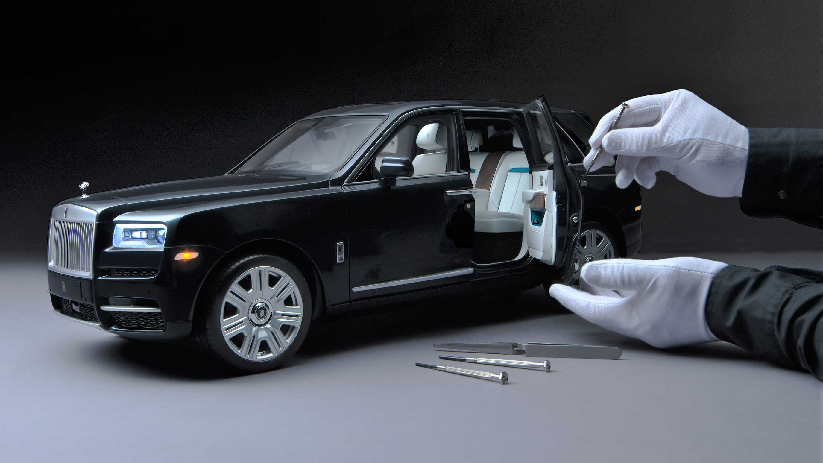 Rolls-Royce's Handbuilt Scale-Model Cullinan SUV Costs $17,000 (To Start!)
