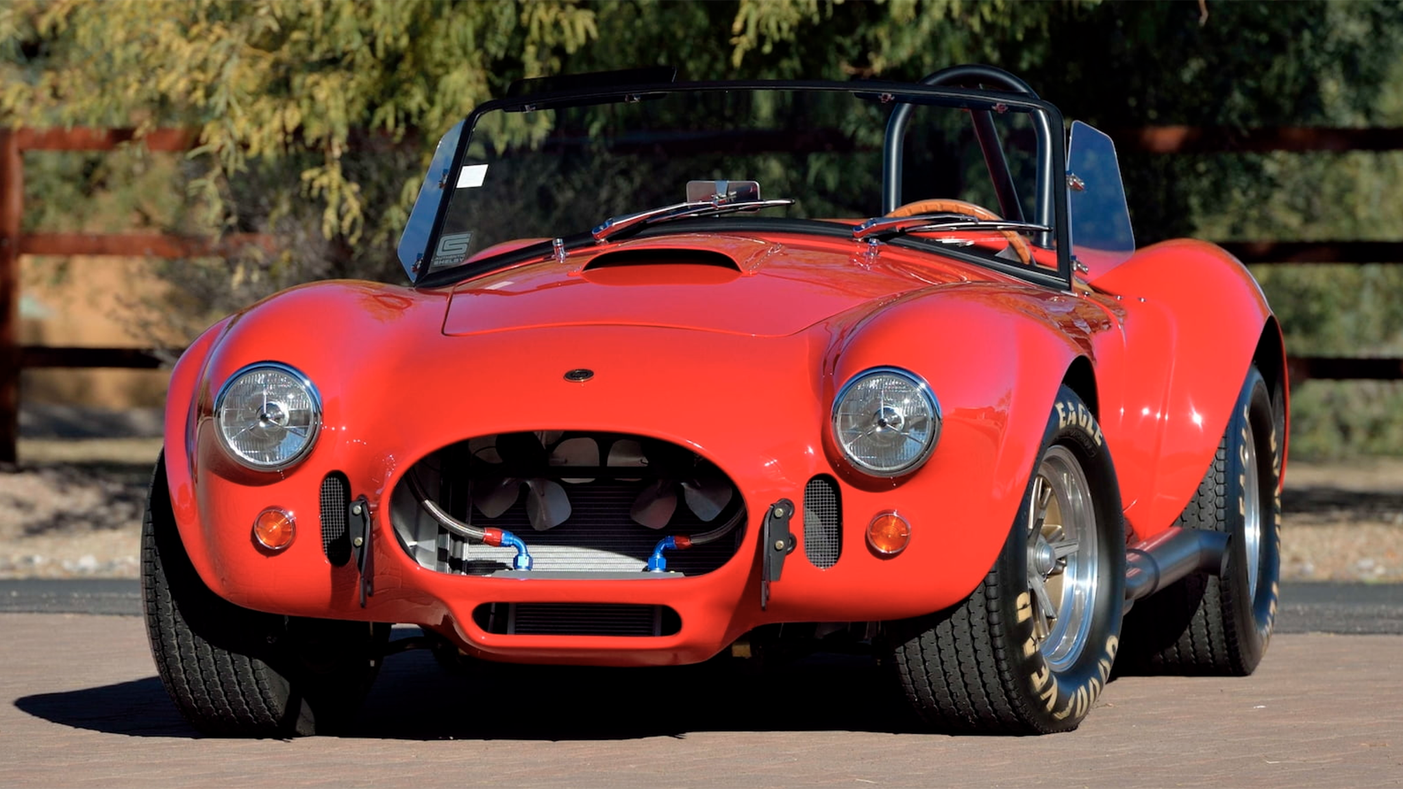 Rare Continuation Shelby Cobra Tribute to Carroll's Ferrari Beef Heads to Auction
